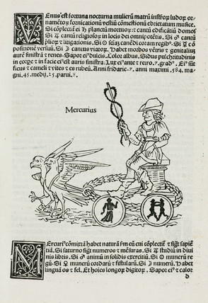 Mercury symbolised, 1489.