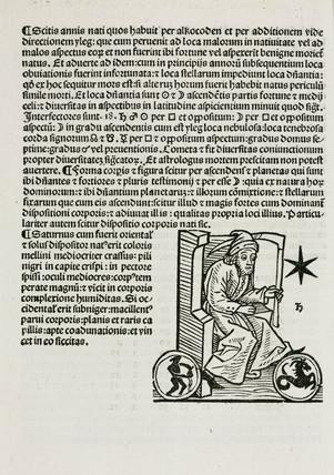 Astrological Saturn, 1489.