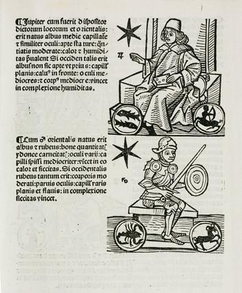 Astrological Jupiter and Mars, 1489.