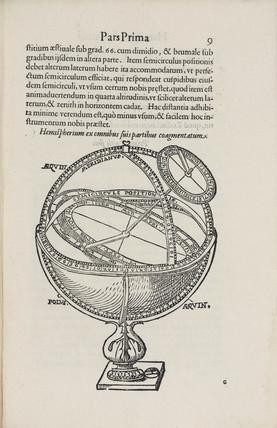 Uranic hemisphere, 1596.