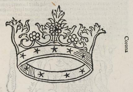 The constellation of Corona, 1488.