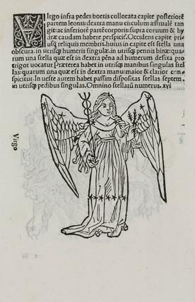 The constellation of Virgo, 1488.