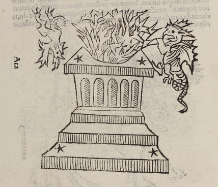 The constellation of Ara, the altar, 1488.
