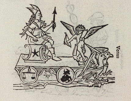Venus, symbolised, 1488.