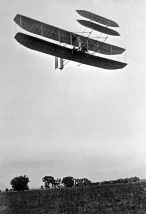 The Wright Flyer III, 1905.