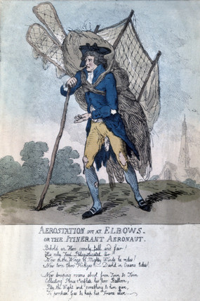 aerostation out at Elbows or the Itinerant aeronaut.