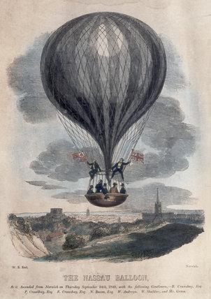 Nassau Balloon, 1840.