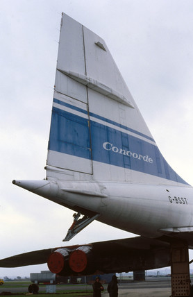 The Concorde, 002 prototype.