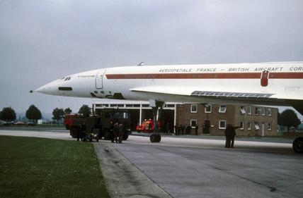 The Concorde, 002 prototype.