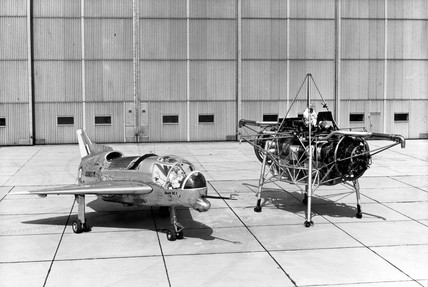 'Flying Bedstead' and the Short SC1 VTOL research aircraft, 1950s.