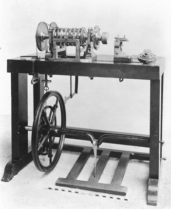 Rose engine lathe, 1768