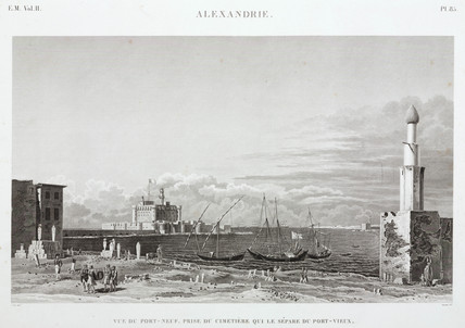 Alexandria, Egypt, c 1798.