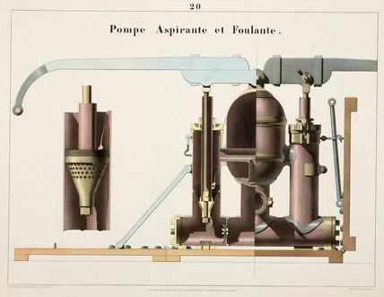 Vacuum pump, 1856.