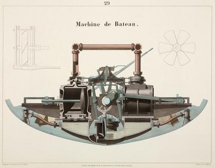 Marine engine, 1856.
