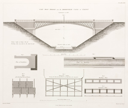 Galton Bridge, 1838.