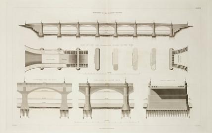 Glasgow Bridge, 1838.