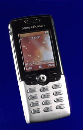 Sony Ericsson T610 mobile 'phone, 2003.
