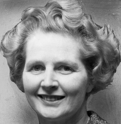 Margaret Thatcher, British politician, c 1960s.