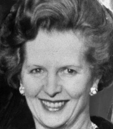 Margaret Thatcher, British politician, c 1970s.