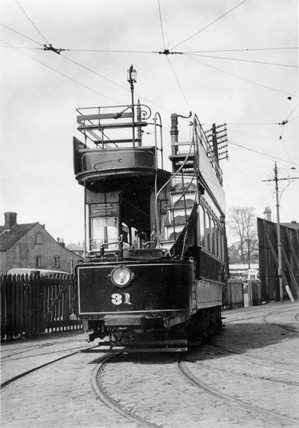 Tram, c 1930s.