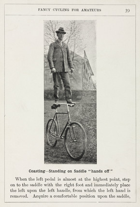 'Coasting - Standing on Saddle