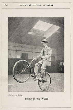 'Riding on One Wheel', 1901.