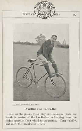 'Vaulting over Handle-Bar', 1901.