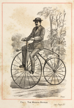 'The Modern Bicycle', 1869.