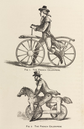 'The French Celeripede', 1869.