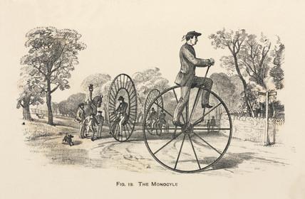 'The Monocyle', 1869.