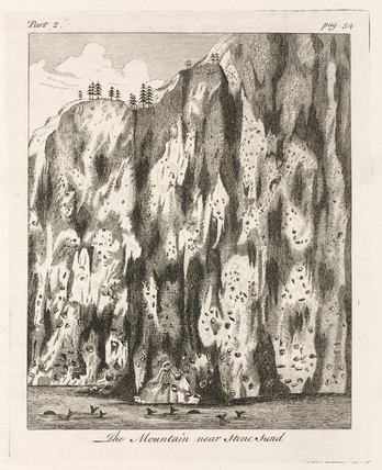 'The Mountain near Stone Sund', Norway, 1755.