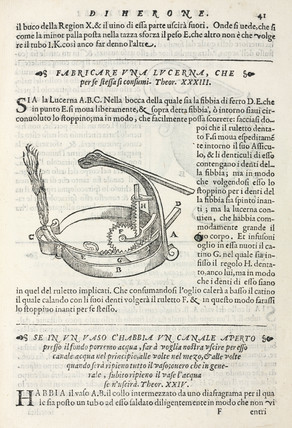 Self-trimming lamp, 1589.