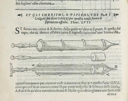 Syringes, 1589.