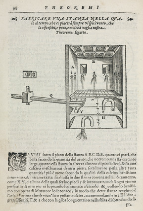 A room that can be refreshed by wind, 1589.