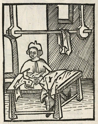 Drying clothes, 1497.