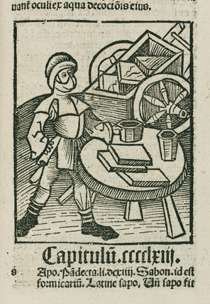 Man with cart, 1497.