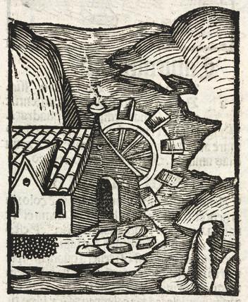 Waterwheel, 1497.