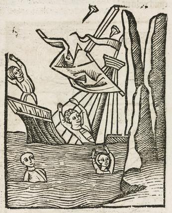 Shipwreck, 1497.