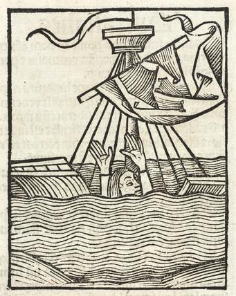 Sinking ship, 1497.