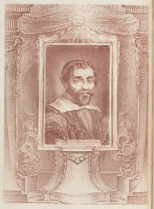 Pierre Gasendi, French scientist and mathematician, mid-17th century.