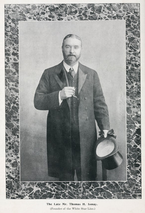 Thomas Henry Ismay, founder of the White Star Line, late 19th century.