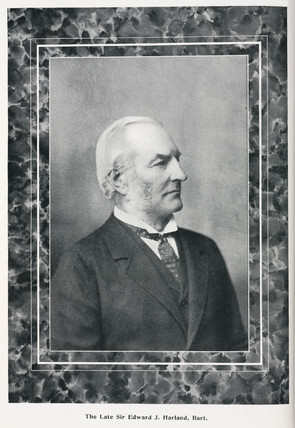 Edward Harland, founder of shipbuilders Harland & Wolff, late 19th century.