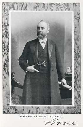 Lord Pirrie, chairman of shipbuilders Harland & Wolff, 1911.