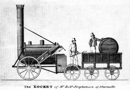 Stephenson's 'Rocket', Mechanics Magazine, 28 November 1829.