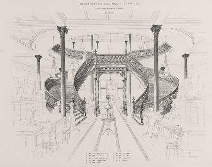 'Macfarlane's castings', c 1882.