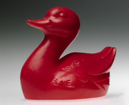 Toughened PVC duck, 1990s.