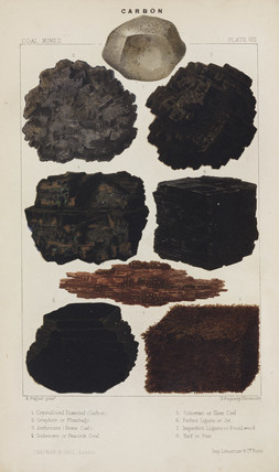 Forms of carbon, 1869.