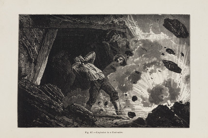 'Explosion in a Coal-mine', 1869.