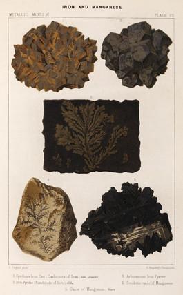 Iron and manganese, 1869.