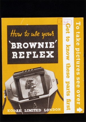 'How to use your 'Brownie' Reflex', Kodak camera instruction booklet, 1941-1952.